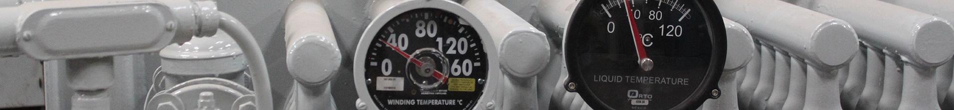 header background: substation gauges